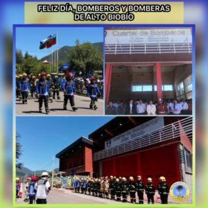 La comuna de Alto Biobío saluda a los bomberos y bomberas en su día.