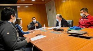 ALCALDE PIÑALEO SE REÚNE CON INTENDENTE PARA AGILIZAR PROYECTOS DE ALTO BIOBÍO